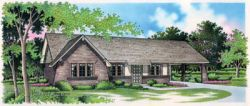 Ranch Style House Plans Plan: 30-111