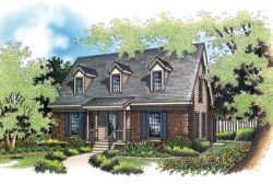 Country Style Floor Plans Plan: 30-116
