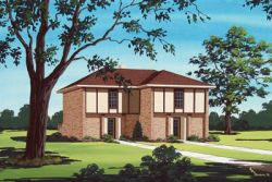 Traditional Style House Plans Plan: 30-121