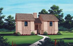 Traditional Style Home Design Plan: 30-123
