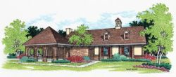 Traditional Style Home Design Plan: 30-124