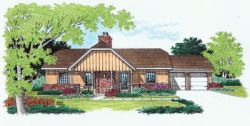 Traditional Style Floor Plans Plan: 30-126