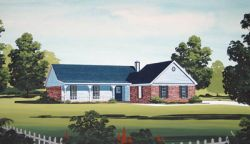 Ranch Style House Plans Plan: 30-139