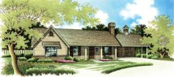 Ranch Style Home Design Plan: 30-145
