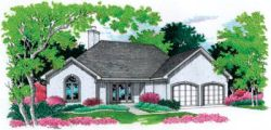 Traditional Style House Plans Plan: 30-164