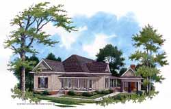 Country Style Floor Plans Plan: 30-168