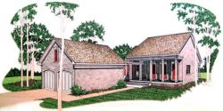 Southern Style House Plans Plan: 30-172