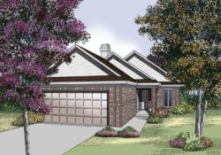 Traditional Style Home Design Plan: 30-174