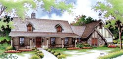Country Style Floor Plans Plan: 30-176