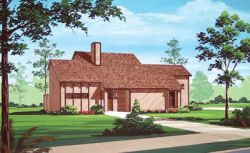 Contemporary Style Floor Plans Plan: 30-178