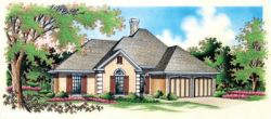 Traditional Style Home Design Plan: 30-183