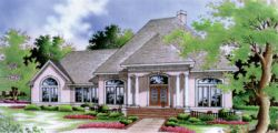 Southern Style Floor Plans Plan: 30-188