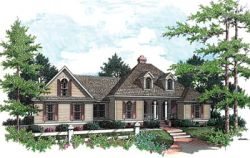 Southern Style Home Design Plan: 30-192