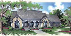 Southern Style House Plans Plan: 30-200