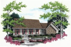Southern Style Floor Plans Plan: 30-208
