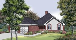 Traditional Style Home Design Plan: 30-210