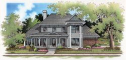 Victorian Style Home Design Plan: 30-244