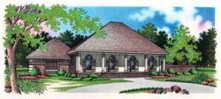 Traditional Style House Plans Plan: 30-257