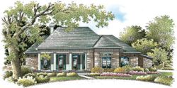 Traditional Style Home Design Plan: 30-262