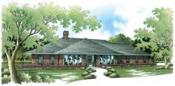 Ranch Style House Plans Plan: 30-263