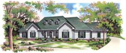 Traditional Style House Plans Plan: 30-269