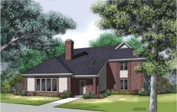 Traditional Style House Plans Plan: 30-272