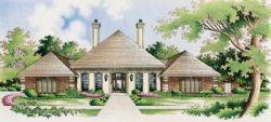 European Style Home Design Plan: 30-276