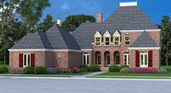 Traditional Style Floor Plans Plan: 30-288