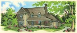 Country Style House Plans Plan: 30-293