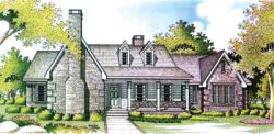 Country Style Floor Plans Plan: 30-294