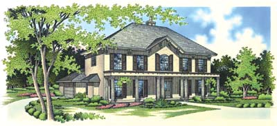 Traditional Style House Plans Plan: 30-300