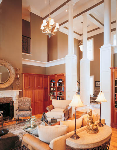 Georgian Style House Plans