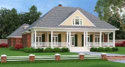 Southern Style Floor Plans Plan: 30-322