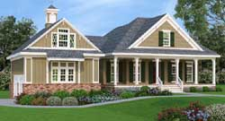 Southern Style House Plans Plan: 30-323