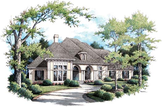 Mediterranean Style Floor Plans Plan: 30-331