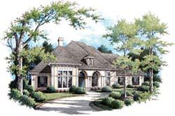 Mediterranean Style Home Design 30-331