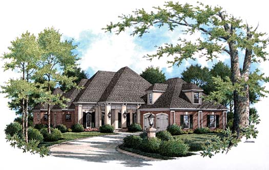 Traditional Style Floor Plans Plan: 30-332