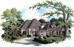 Traditional Style Home Design 30-332