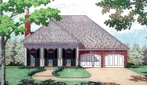 Southern Style Floor Plans Plan: 30-335