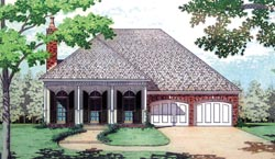 Southern Style House Plans Plan: 30-335