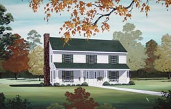 Country Style House Plans Plan: 30-339