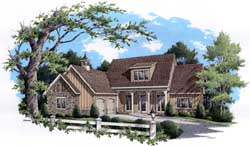 Country Style House Plans 30-347