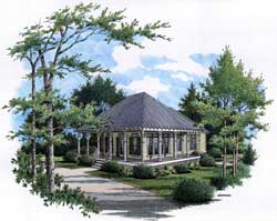 Country Style House Plans Plan: 30-349