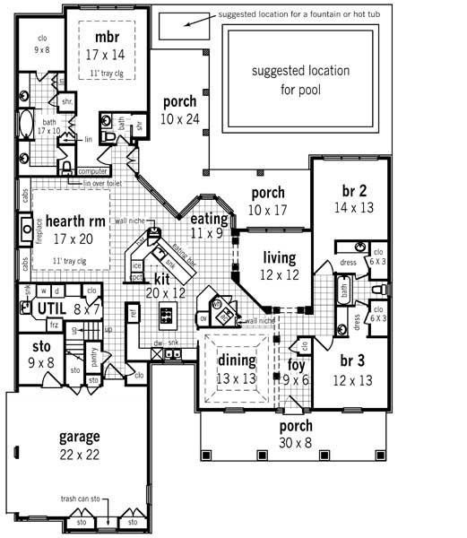 Main Floor Plan: 30-352