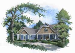 Contemporary Style Floor Plans Plan: 30-352