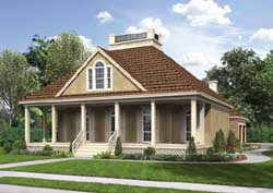 Cottage Style Floor Plans Plan: 30-354