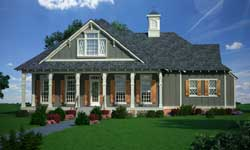 Country Style Home Design Plan: 30-355