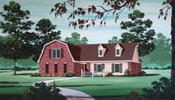 Early-American Style House Plans Plan: 30-359