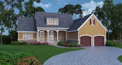 Country Style Floor Plans Plan: 30-367