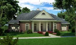 Southern Style House Plans Plan: 30-372
